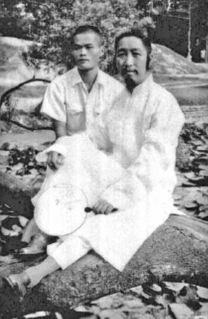 Cheng Man-ch'ing en Benjamin Lo 1951