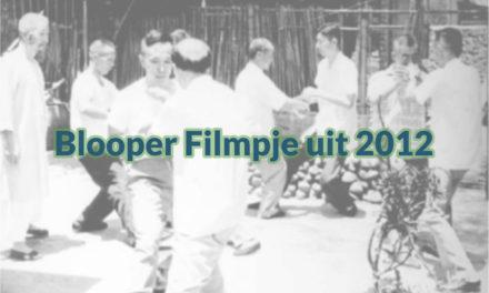 Blooper Filmpje Uit 2012
