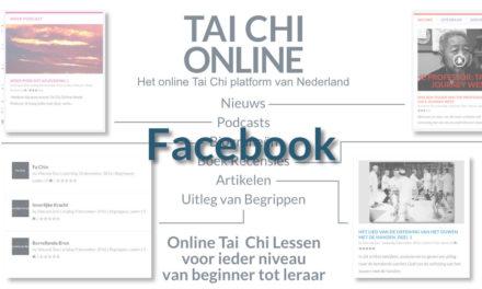 Tai Chi Online Heeft Een Facebook Pagina